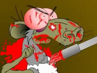 18+ Крысы на Кокаине. 1 серия - ОПОЗДАНИЕ (Мульт для взрослых! )