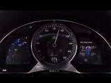 Как Bugatti Chiron разгоняется до 350 кмч