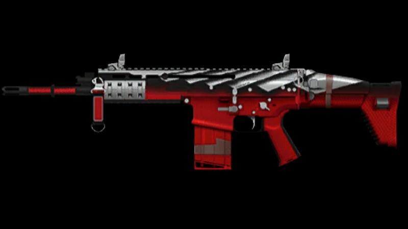 Активация пин-кода на FN SCAR‐H «Убийца зомби»