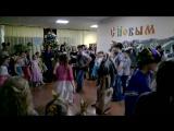 Команда Бабы Яги танцует и поёт )
