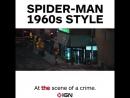 «Человек-паук:Возвращение домой» в стиле сериала 1960-х