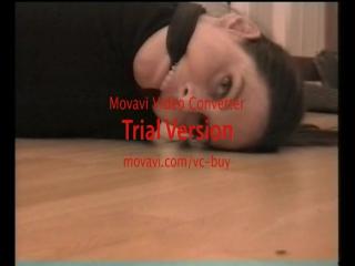 Cleave gagged German woman - behind the scenes