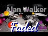 #3 Alan Walker-Faded(drum cover)