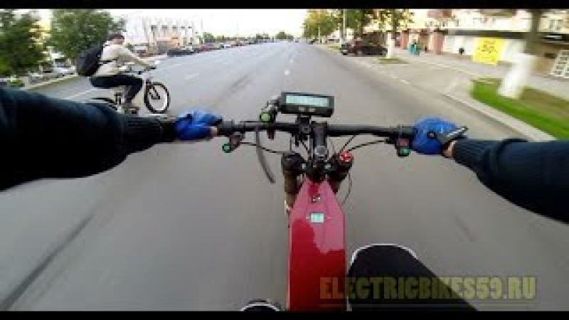 Электровелогибрид 5000 и 3000Вт, Electric bicycle 2000, 3000W
