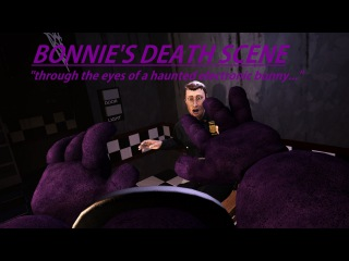 [SFM] FNaF Bonnie's Death Scene (Animatronic's Perspective)