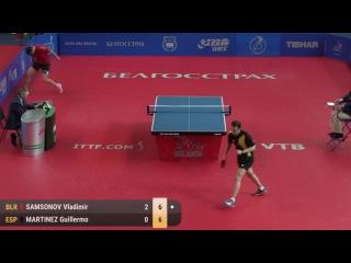 2017 Belarus Open Highlights: Vladimir Samsonov vs Guillermo Martinez (R64)