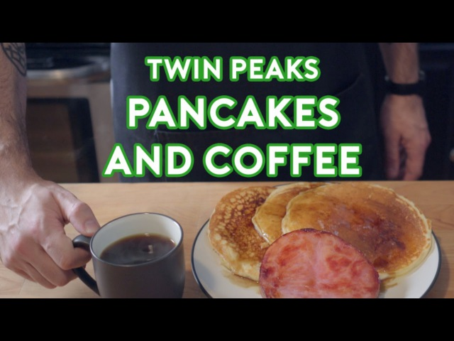 Binging with Babish Twin Peaks Pancakes Coffee (feat. Cocktail Chemistry)