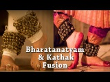 Dance Fusion-Bharatanatyam & Kathak [SAKHI DANCERS]-Indian Classical Dance Performance for Beginners