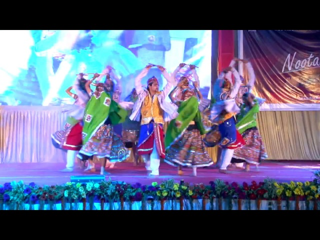 1st price award winning traditional/Falk group dance on garba theme in college compitition