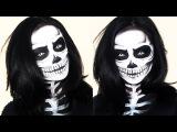 Skeleton Makeup Halloween Tutorial  Brigette Ramos
