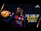 Neymar Jr ● THE KING OF ASSISTS - Crazy Passes ● 2016/2017