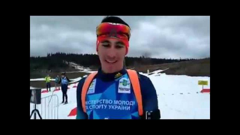 Кирило Сергієнко бронзовий призер в чоловічій класичній естафеті на чемпіонат