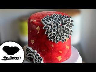 ( https://vk.com/lakomkavk) Marshmallow Flower | Cake Art