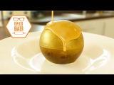 (https://vk.com/lakomkavk) Gold Chocolate Melting Ball - Topless Baker