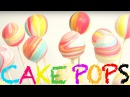 How to make the most AMAZING RAINBOW CAKE POPS! Its A Piece Of Cake