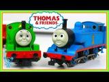 Trains for children Thomas and friends Trains - Märklin Thomas vs Percy - Trains for kids 4K