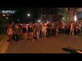 В городе Шарлотт четвертые сутки подряд продолжаются протесты #сша