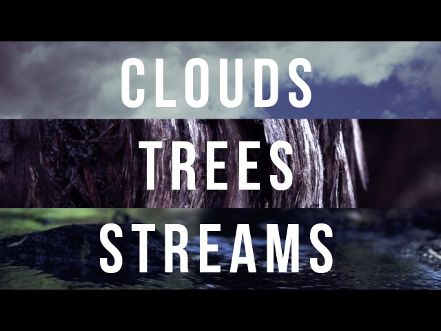 Clouds, Trees, Streams