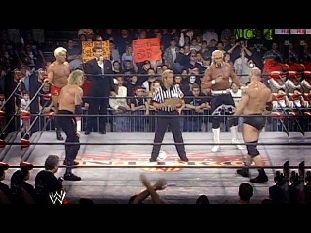 Bill Goldberg vs Hulk Hogan vs Ric flair vs DDP - WCW - wwe championship