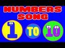 Zahlen Lied für Kinder | Lerne Zahlen | Nummern 1 bis 10 | Educational Songs | Numbers Song