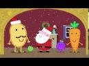Peppa Pig Season 4 Episode 25 in English - Mr Potatos Christmas Show