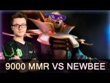 Miracle 9000 MMR Invoker — OG vs Newbee on Epicenter Moscow