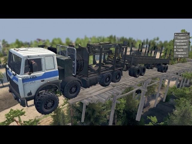 Мод MZKT 7401 для SpinTires 03.03.2016