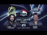 Replay GPL Week 3 - EurAsia Heads-up Igor Kurganov vs. George Danzer - W3M26