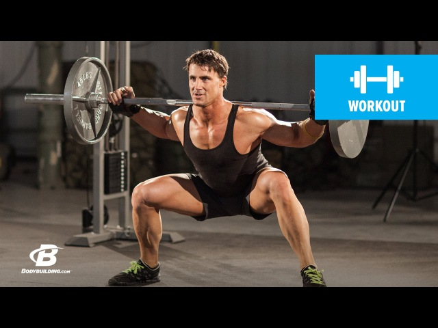 Ноги 5 день Mass Building Leg Workout MFT28 Greg Plitt's 4 Week Military Fitness Training Program