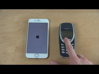 IPhone 7 vs. Nokia 3310 - Which Is Faster?