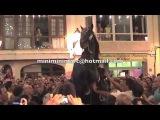Horse accident - ES JALEO Festes Alaior (Menorca)