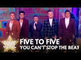 Five To Five perform 'You Can't Stop The Beat' from the musical Hairspray - Let It Shine 2017 - BBC