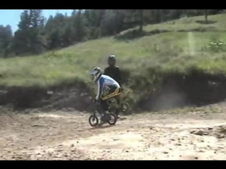 Rippin the M - Adults racing Strider balance bikes down M Hill!