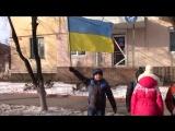 """Акція """"Ланцюг Єднання"""" до Дня Соборності України Щастинська ЗОШ №1"""