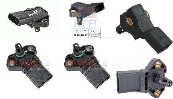 Датчик, давление наддува; Датчик, давление наддува; Датчик, давление во впускном газопроводе для AUDI A4 кабрио (8H7, B6, 8HE, B7)