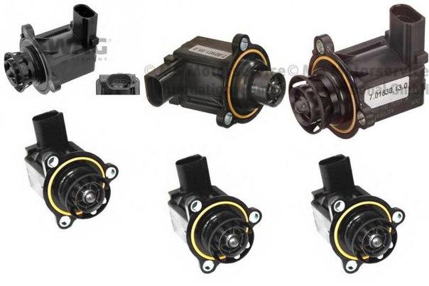 Клапан воздушной тяги, нагнетатель для AUDI A5 кабрио (8F7)