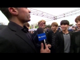 [PRESS] 17/05/21 BTS on Billboard Music Awards (Magenta Carpet)