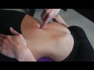 Self massage for belly button