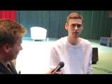 Видеопроект #whatNSK. Шоу Импровизация на ТНТ - Антон Шастун и Сергей Матвиенко