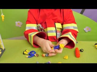 Пожарный Сэм и Башня для учений - Детальный обзор набора. Fireman Sam and fire rescue tower