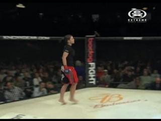 3. Gina Carano vs. Elaina Maxwell - Strikeforce Triple Threat