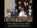The Independent - Prince dabs during royal ceremony