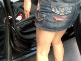 Hot Mom  Hot Upskirt  No Panty