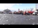 В Волгограде впервые прошел парад коммунальной техники