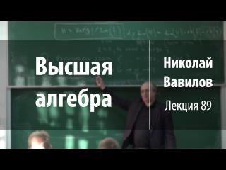 Лекция 89 | Высшая алгебра | Николай Вавилов | Лекториум
