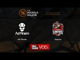 Ad Finem vs Empire,Manila Major Qualifiers FINAL, game 4