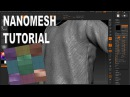 EASY ZBRUSH - WORKING WITH NANOMESH IN ZBRUSH 4r7
