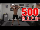 Home Workout Without Weights - 500 REPS!