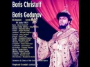 Boris Godunov : Boris Christoff - Margreta Elkins - Joseph Rouleau