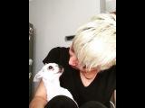 Айше с собачкой Эльчин - Йодой
